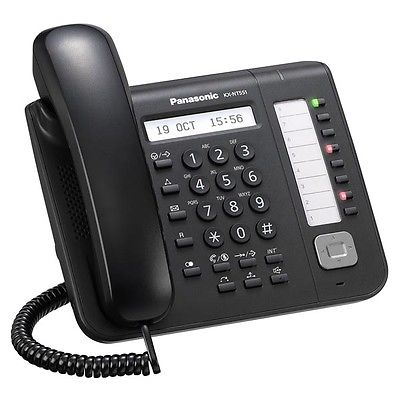 Telefono-Fisso-Panasonic-KX-NT551NE-B-Nero